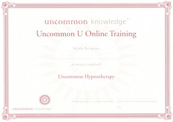 Uncommon U Training Certificate