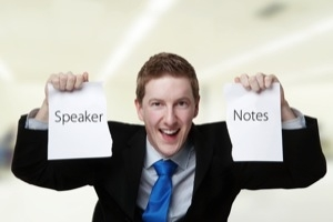 Step 9 - Speak Without Notes