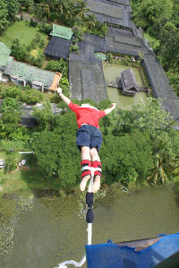 fear of heights bungee jumping