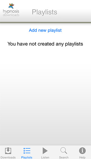 Play List Screenshot